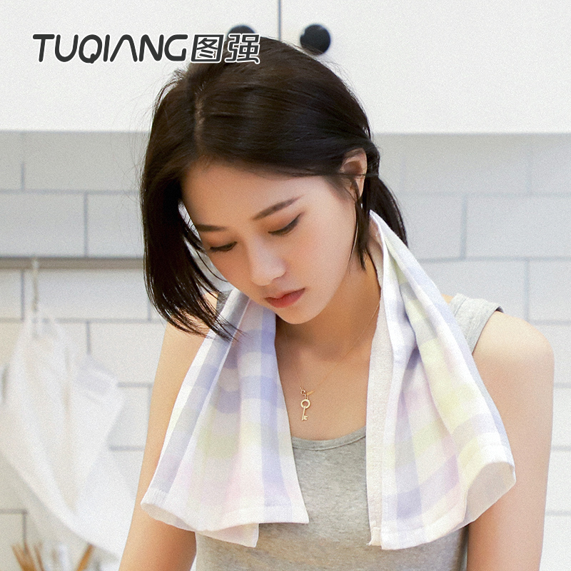 Pure Cotton Gauze & Terry Double Layer Towel